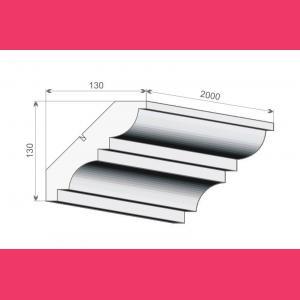 Deckenleiste FE12 - 13 cm