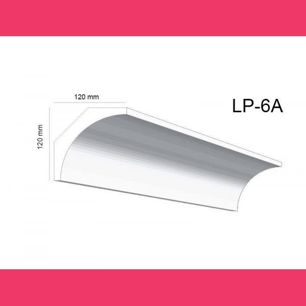 Deckenleiste Stuck LP6A - 12 cm