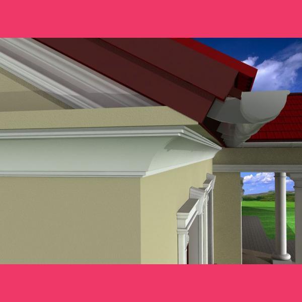 Fassaden Dachgesims FE-2