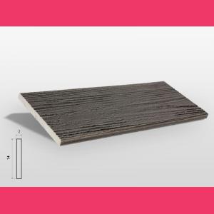Fassadenverkleidung Ebenholz
