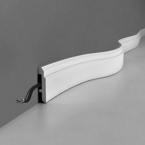 Fußleiste flexibel SX155F Orac Decor