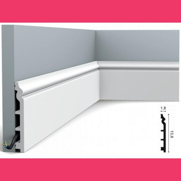 Fussleiste 13,8 x 1,8 cm SX118 Orac Decor