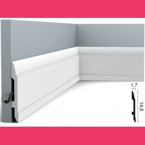 Fussleiste 14,8 x 1,7 cm SX104 Flexible Orac Decor