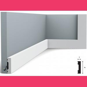 Fussleiste 4 x 1 cm SX162 Orac Decor