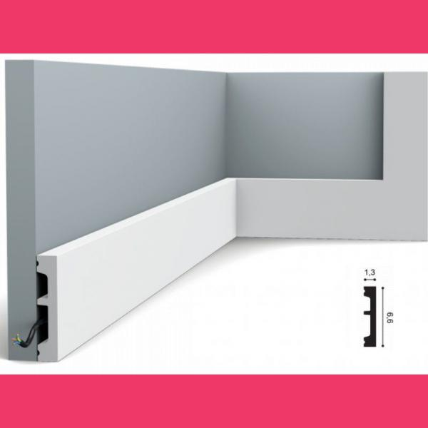 Fussleiste 6 x 1,3 cm SX157 Flexible Orac Decor