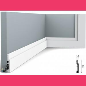 Fussleiste 7,5 x 1,2 cm SX187 Orac Decor