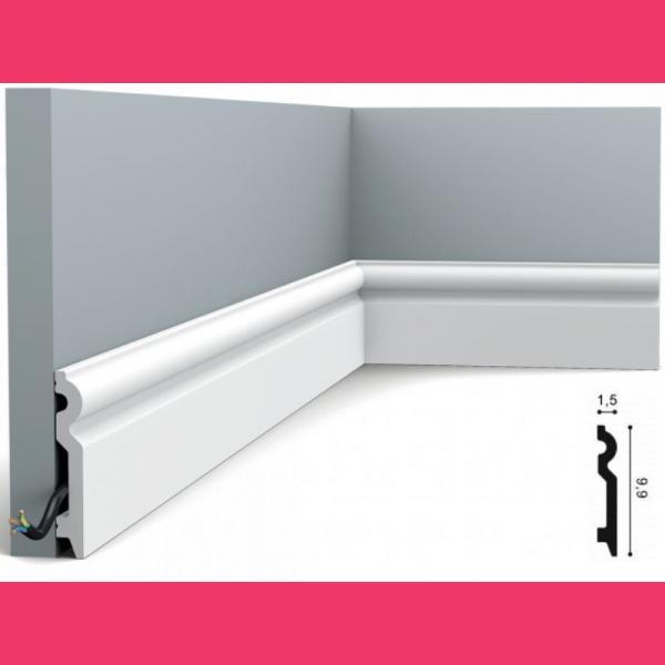 Fussleiste 9,9 x 1,5 cm SX137 Flexible Orac Decor
