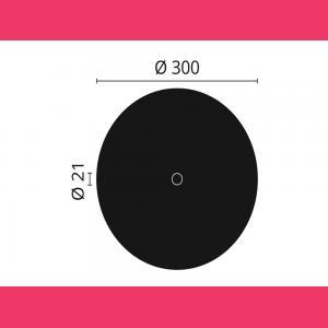 Rosette R4 NMC ø 30 cm