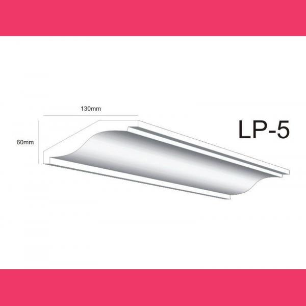 Stuckleisten Styropor LP5 - 6 cm